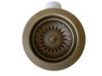 AquaSanita Клапан корзинчатый бронза