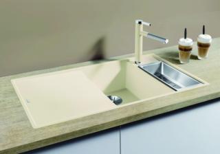 Blanco Axia III 6 S-F разд. столик из ясеня