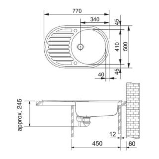 """Franke PML 611 (1.5"""")"""