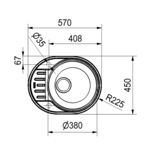Franke PXL 611-57
