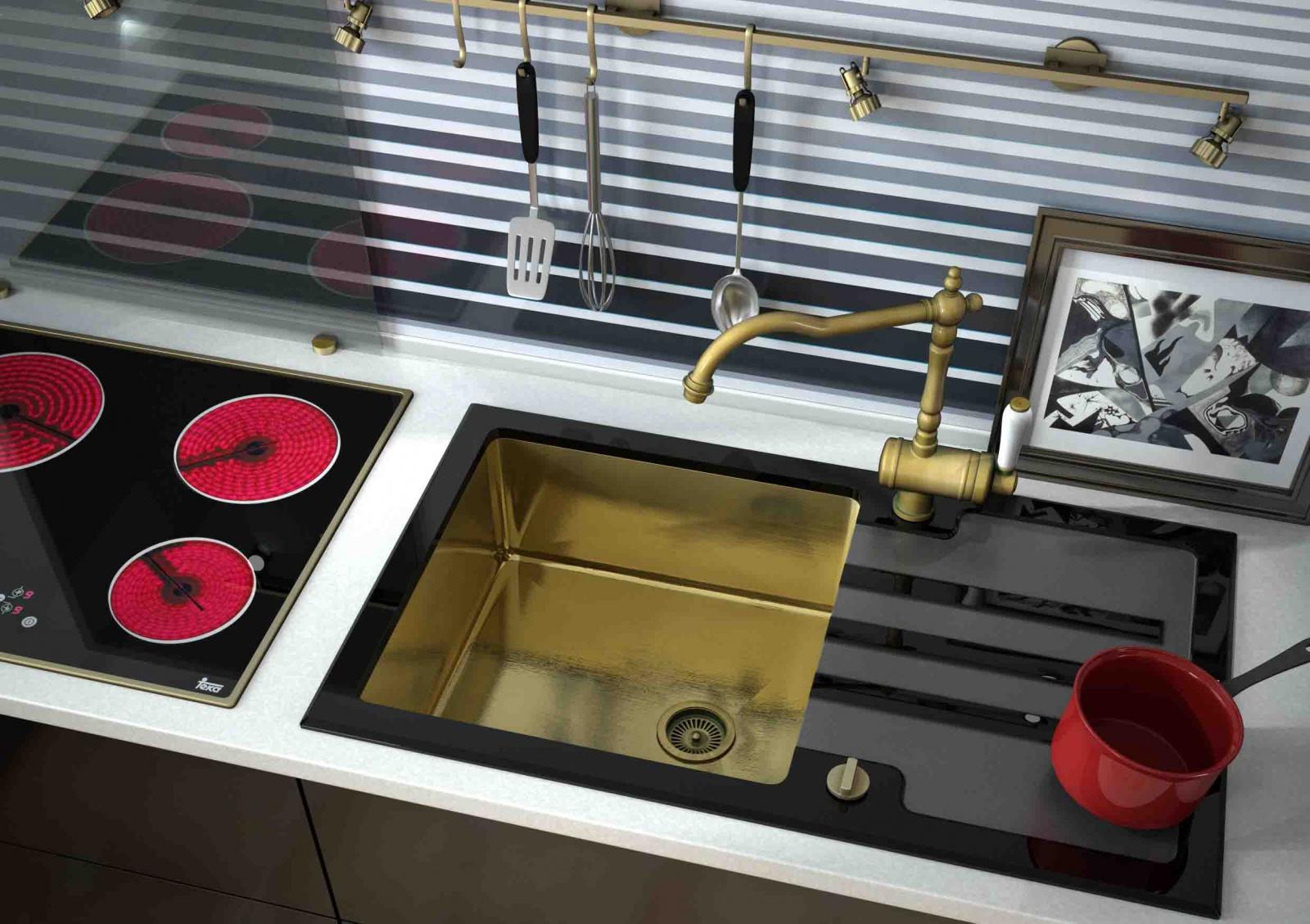 кухонная мойка нержавейка стекло вашем