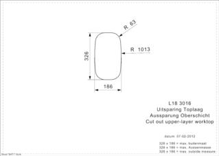 Reginox L18 3016