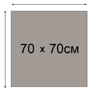 Topalit 70x70 Classicline