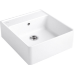 Villeroy&Boch Single Bowl Sink Альпийский белый